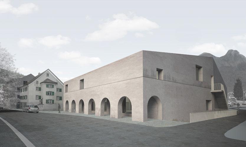 Mels Cultural Centre Switzerland Casper Mueller Kneer